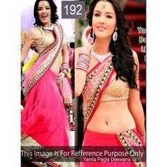 YPD Pink Bollywood Replica Lehenga 192 By Fashion Founder Pallu-: Net , SKT-: N.A , Blouse-: Row Silk , Inner-: Satin , Length-: Lehenga : 5.50 Mtr, Blouse : 0.80 Mtr, If Inner : 2.00 Mtr BrandFashion Founder ColorPink TypeBollywood Replica Lehenga PriceRs4,350.00 Special PriceRs3,002.00