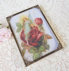 Antique Gold Victorian Picture Frame  5 x 7  by RosebudsOriginals, $7.95