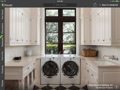 Omg, someone built the perfect laundry room!