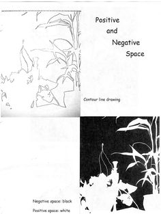 positive and negative spaces