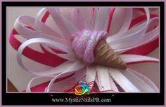 #Toddler #Bows ☆ XOXO Jennifer Perez of Mystic Nails ☆ www.MysticNailsPR.com