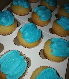 Vanilla Cupcakes . . . #cupcakes #skyblue #blue #yellowdust #edible #sparkle #buttercreamfrosting #zigzag #classy #simple #delishbakes… Vanilla Cupcakes, Buttercream Frosting, Traveling By Yourself, Delish, Sparkle, Classy, Simple, Instagram Posts, Desserts
