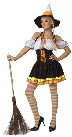 Sexy Halloweenheksenkostuum voor vrouwen