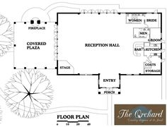 Hermann hill chapel floor plan one day start a for Banquet hall floor plans