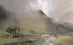 Borrowdale, Cumbria  #Paintings | #England | #ChrisRobinson #Watercolour #paintings