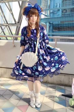 """Sweet Lolita Thread - """"/cgl/ - Cosplay & EGL"""" is imageboard for the discussion of cosplay, elegant gothic lolita (EGL), and anime conventions. Quirky Fashion, Colorful Fashion, Cute Fashion, Vintage Fashion, Harajuku Fashion, Japan Fashion, Kawaii Fashion, Diesel Punk, Mode Lolita"""