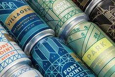 Fort Point Beer Company branding was created by Manual, a design studio based in San Francisco. Fort Point is San Francisco's fastest growing craft brewery. Beer Packaging, Brand Packaging, Packaging Design, Branding Design, Product Packaging, Design Typography, Lettering, Puente Golden Gate, Brand Presentation