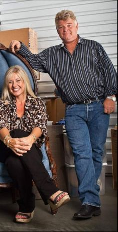 Storage Wars stars Dan @auctionguydan Dotson and Laura @paytheladylaura Dotson to launch Yard Sale Expo