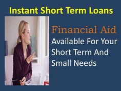 Instant short term loans offer best help with no big hassle and no delay at all. If you have the problem of bad credit history then you simply get the preferre… Quick Loans, Online Cash, Short Term Loans, The Help, History, Big, Historia