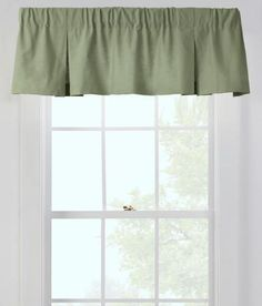 Insulated Weavers Cloth Tailored Pleated Valance $23.99 - $34.95