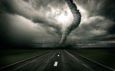Nieuws is als een tornado, het kan groots en meesleurend zijn, het kan je aantrekken of je kan ervoor vluchten, maar je kan het nooit negeren.