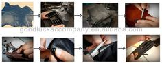 Men driving leather gloves goatskin handmade leather gloves