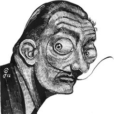Dalí by GoVa®  Please click like in my fans page:  https://www.facebook.com/pages/GoVa/407958572584283  Thanks and enjoy JuNgLeInK!!! and many original cartoons!  GoVa®