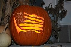 Patriotic Pumpkin