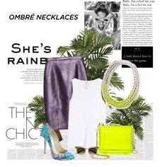 Designer Clothes, Shoes & Bags for Women She's A Lady, Your Style, Necklaces, Chic, Polyvore, Stuff To Buy, Shopping, Design, Women