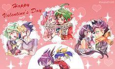 Rin, Yugo, Yuzu, Yuya, Ruri, Yuto, Serena and Yuri