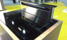 Higham Furniture: Introducing the Induction Hob with Integrated Downdraft Extractor from Caple