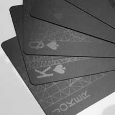 balance wu :: black playing cards