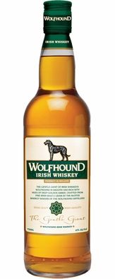 Wolfhound Irish Whiskey - This is really good stuff. Mild and tasty.