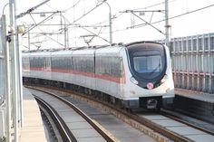 杭州地铁1号线列车离开乔司站向乔司南驶去IMG 0154.JPG