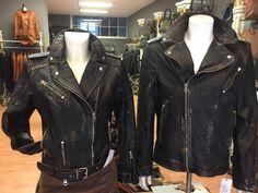 Aus hochwertigem Napa Leder hergestellten Lederjacken für Damen und Herren