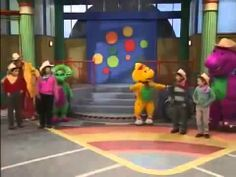 Barney and Friends - Round and Round We Go (FULL)