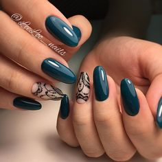 Having short nails is extremely practical. The problem is so many nail art and manicure designs that you'll find online Cute Nails, Pretty Nails, Latest Nail Art, New Year's Nails, Luxury Nails, Elegant Nails, Green Nails, Creative Nails, Creative Makeup