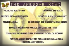 "#HealthRegards Fruit of the Week - #KIWI. The Kiwifruit also called as a 'super fruit' gives more health-promoting #vitamins, #minerals per gram and per calorie than 27 of the most popular fruits. It is therefore ranked at the #top of the nutrition density model and is aptly called a ""Nutritional Powerhouse""."