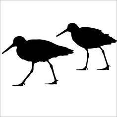 2 Sand Piper  Vinyl Wall Decals. $8.00, via Etsy.