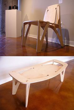 CNC plywood furniture   MAKE