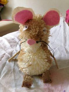 The Gruffalo pompom mouse