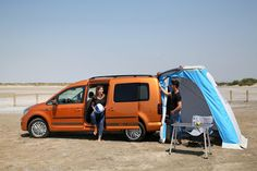 VW Caddy Beach