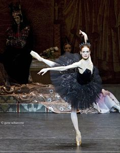 "Uliana Lopatkina in ""Swan Lake."" Photo (c) Gene Schiavone."