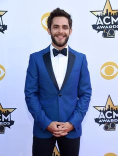 Singer-songwriter Thomas Rhett attends the Academy Of Country Music Awards at AT
