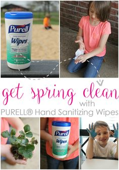 Get Spring Clean with PURELL® Hand Sanitizing Wipes @walmart #PurellWipes #ad