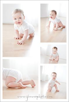 like the bottom right photo for the transition from crawling to standing..