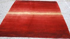 Mid Century Modern Style Red Rug 5x7 #LAWRENCELAWRENCE