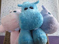 Hippo STUFFED ANIMAL Sewing Pattern by WarmFuzziesByGen on Etsy