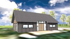 Bij deze woning zijn de karakteristieke kenmerken van een schuurwoning goed te zien. Dit woonhuis heeft een eenvoudige hoofdvorm en een ingetogen detaillering. De natuurlijke en robuurste uitstraling komt goed naar voren door de natuurlijke materialen die zijn toegepast.