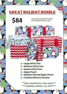Thirty One Gifts November 2014 customer special Www.mythirtyone.com/477260
