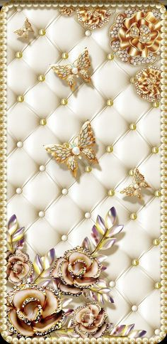 Gold and white ivory cream Bling Wallpaper, Luxury Wallpaper, Wallpaper For Your Phone, Butterfly Wallpaper, Locked Wallpaper, Cellphone Wallpaper, Mobile Wallpaper, Wallpaper Backgrounds, Iphone Wallpaper