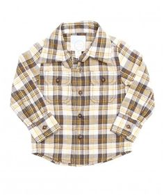 Baby Brooks Plaid Shirt | Peek Kids Clothing