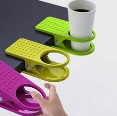 I need this for the 10 coffee cups that reside on my desk. Cool product |#office | #cafe holder |#handy