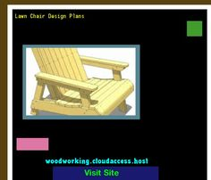 Lawn Chair Design Plans 222805 - Woodworking Plans and Projects!