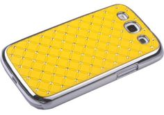 Yellow Bling Shinning Check Grid Case Cover for Samsung Galaxys III S3 I9300 by generic, http://www.amazon.com/dp/B009W0B92C/ref=cm_sw_r_pi_dp_D5GXqb0SVTSW2