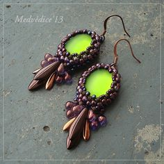 earrings by medvedice