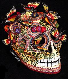 Alfonso Castillo: Day of the Dead Skull Art
