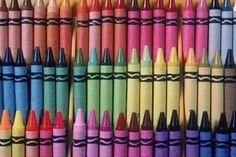 Must keep crayons in order!
