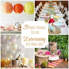 5 Tips for Hosting an Inexpensive Party in a Small Space » Apartment Living Blog » ForRent.com : Apartment Living