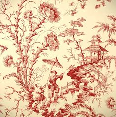 Pillement Toile Wall paper